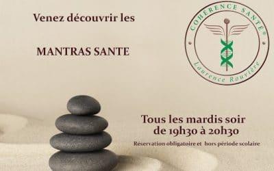 Cours de Mantras Santé© pour préserver sa santé