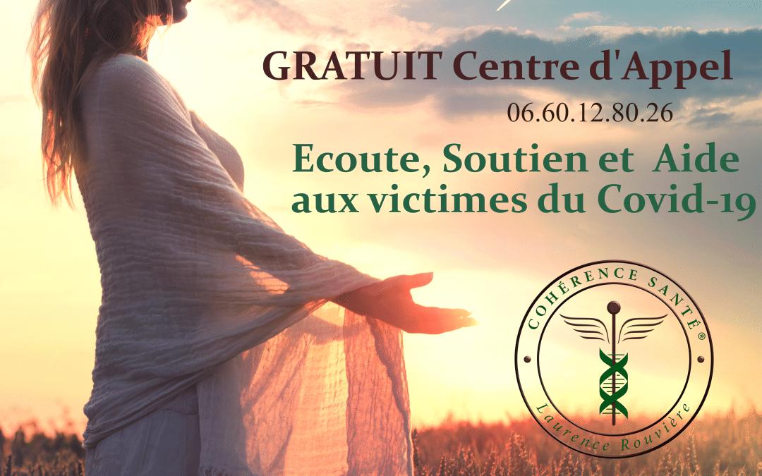 GRATUIT : Centre d'Appel victimes COVID-19