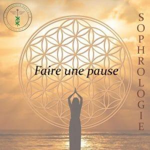 Faire une pause par Laurence Rouvière Sophrologue à Béziers