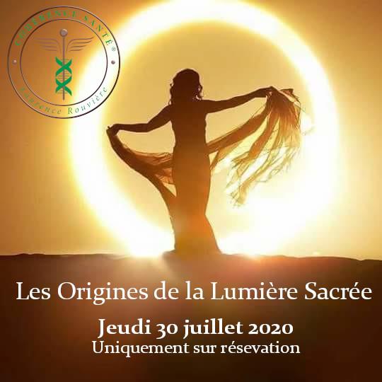 Les Origines de la Lumière Sacrée