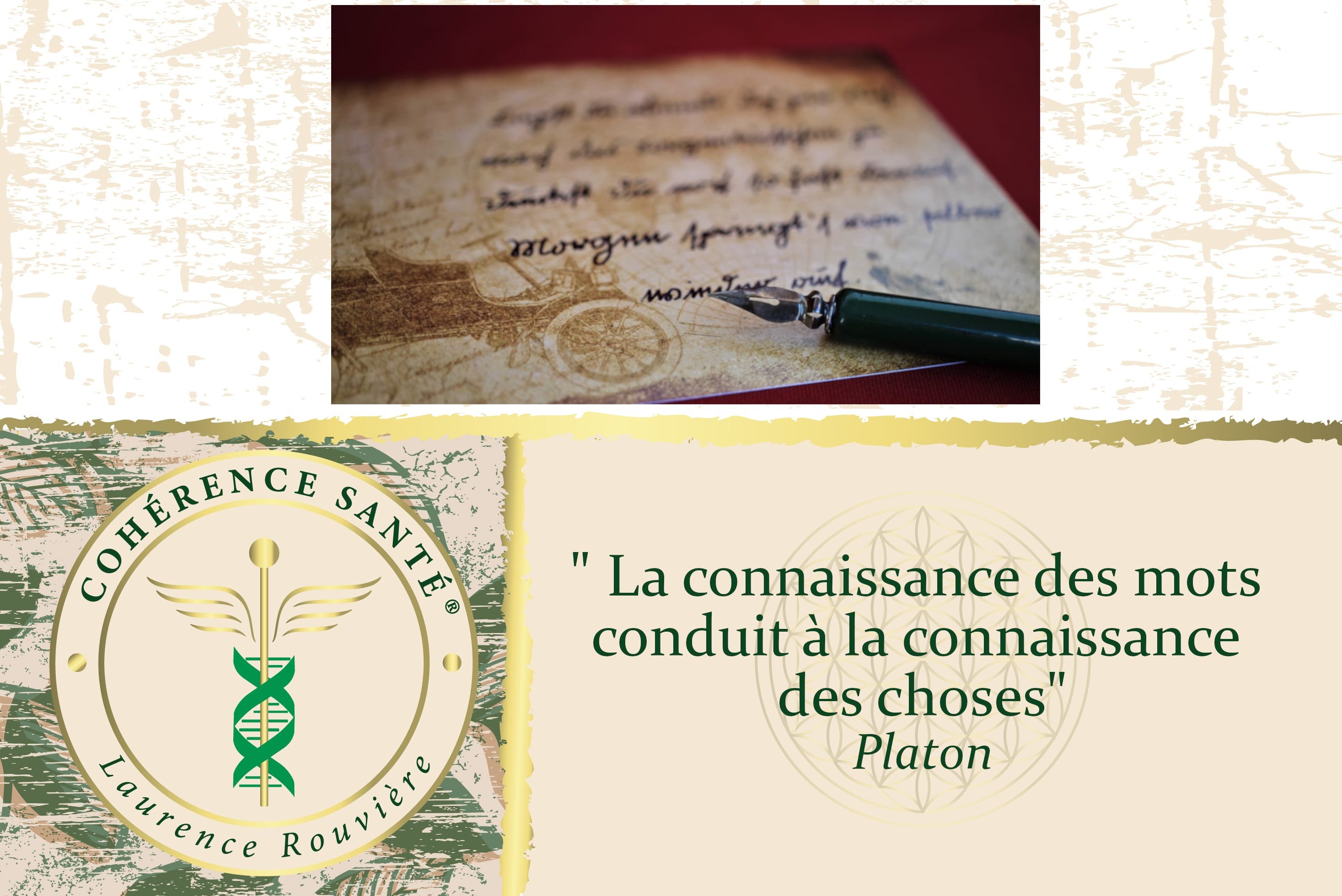 Citations Positives et Sagesse des Mots par Laurence Rouvière - Méthode Cohérence Santé ®