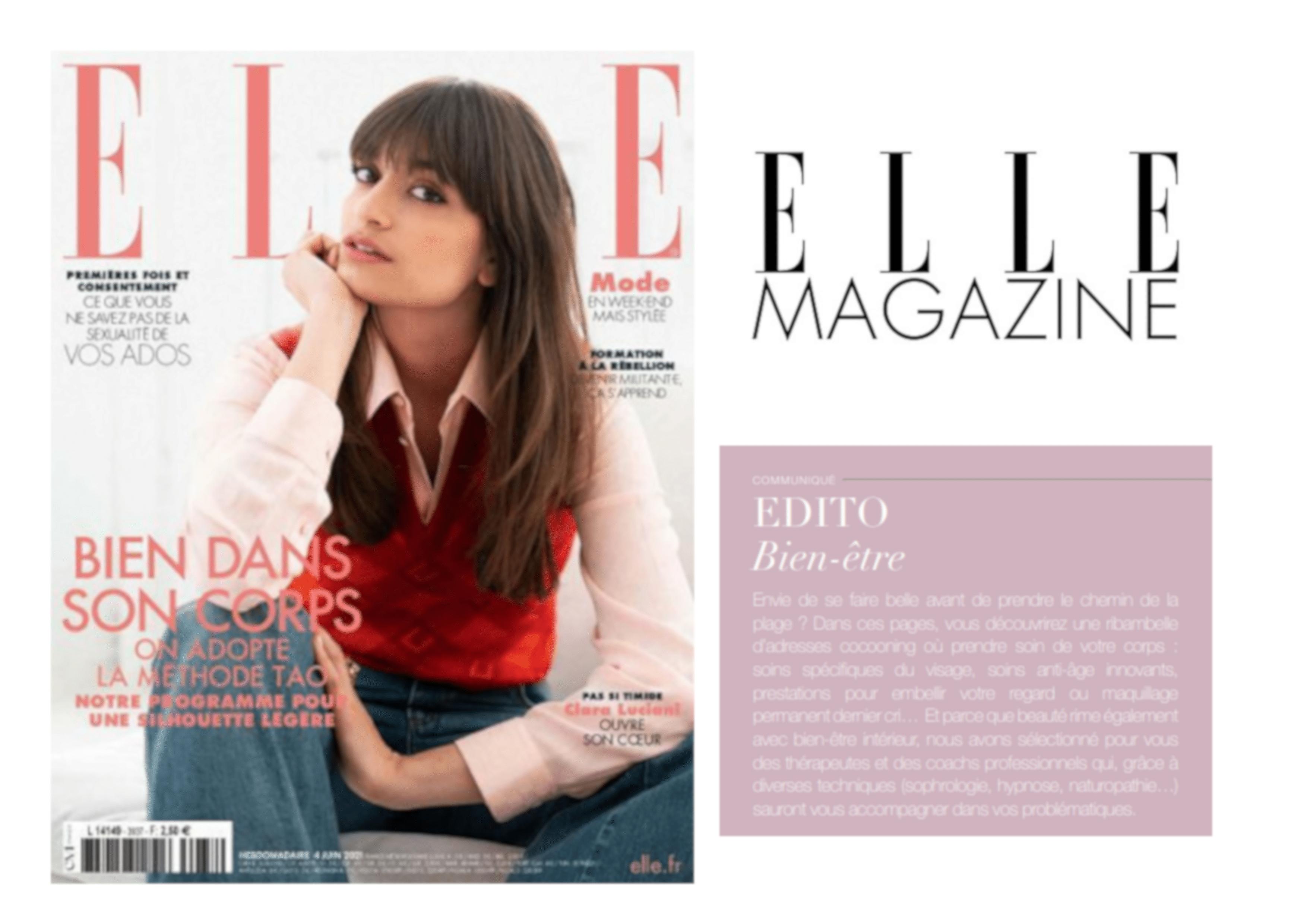 ELLE Magazine parle de la Méthode Cohérence Santé® à Béziers
